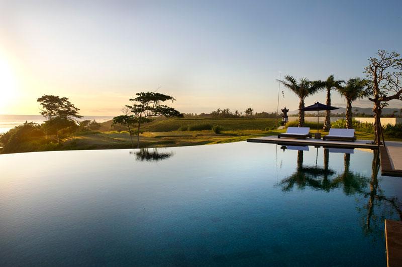 Swimming Pool at Villa Babar