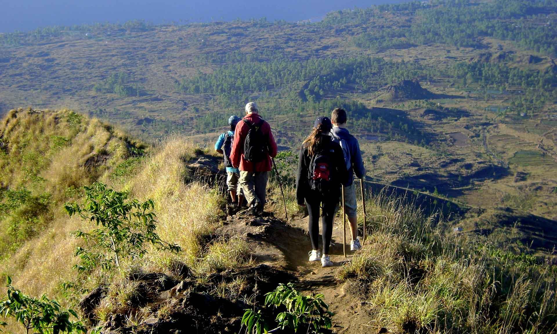 Bali Mountain Hiking